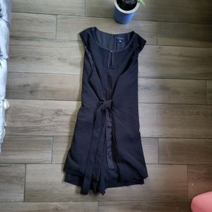 Victoria Beckham Target Black mini tie dress 3X